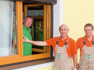 Fensterrenovierung mit Aluschalen
